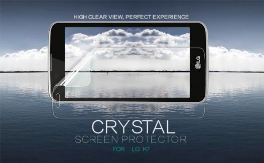 Защитная пленка Nillkin Crystal для LG K7 X210