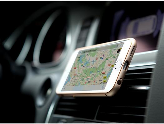 Металлическая накладка + Автодержатель Nillkin для Apple iPhone 6/6s (4.7