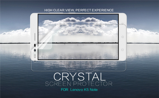 Защитная пленка Nillkin Crystal для Lenovo K5 Note / K5 Note Pro