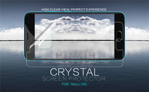 Защитная пленка Nillkin Crystal для Meizu M3 / M3 mini / M3s