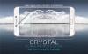 Защитная пленка Nillkin Crystal для Samsung Galaxy C7