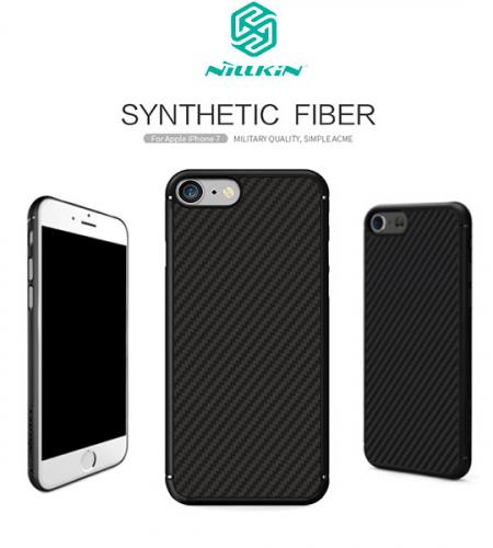 Пластиковая накладка Nillkin Synthetic Fiber series для Apple iPhone 7 (4.7