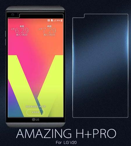 Защитное стекло Nillkin Anti-Explosion (H+ PRO) з. края для LG V20