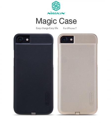 Пластиковая накладка Nillkin Magic с модулем приема от беспроводного ЗУ для Apple iPhone 7 (4.7