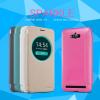 Кожаный чехол (книжка) Nillkin Sparkle Series для Asus Zenfone Max (ZC550KL)