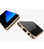 Металлический бампер Luphie с акриловой вставкой для Samsung G930F Galaxy S7