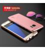 Алюминиевый бампер Luphie Blade Sword для Samsung G930F Galaxy S7 + наклейка из кожи на з.панель