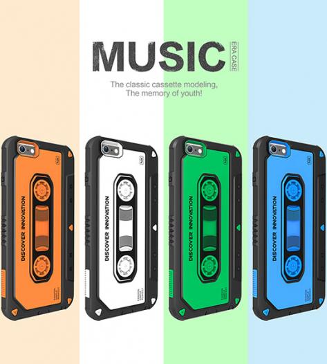 Пластиковая накладка Nillkin Music series для Apple iPhone 6/6s (4.7