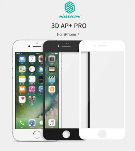 Защитное стекло Nillkin Edge Shatterproof Full Screen (3D AP+PRO) для Apple iPhone 7 (4.7