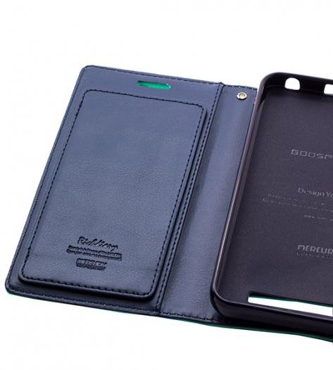 Кожаный чехол-книжка Mercury Rich Diary Wallet для Lenovo Vibe C (A2020)