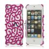 "Объемная пластиковая накладка с узором ""Palace Flower"" для Apple iPhone 5/5S"