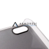 Клетчатый пластиковый чехол-накладка со стразами для Apple iPhone 5/5S