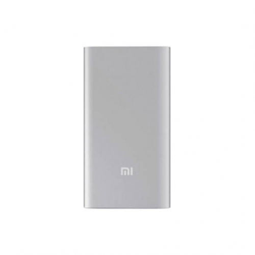 Дополнительный внешний аккумулятор Xiaomi Mi Power Bank 5000mAh Original (NDY-02-AM) (1 USB, 2.1A)