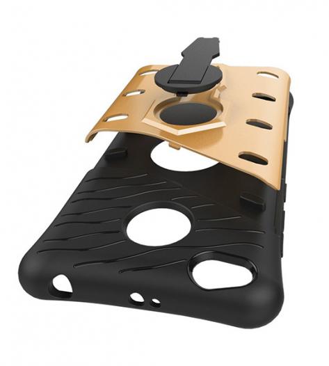 Противоударный чехол Armored-case с функцией подставки и вращения на 360 градусов для Xiaomi Redmi 3