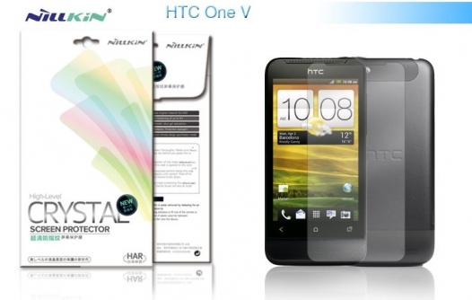 Защитная пленка Nillkin Crystal для HTC One V