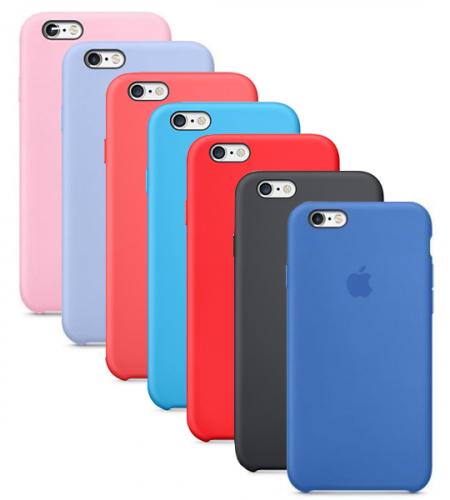 Оригинальный силиконовый чехол для Apple iPhone 6/6s (4.7