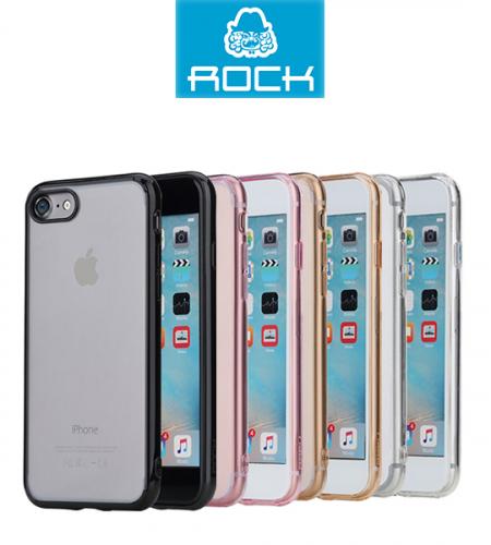 TPU+PC чехол Rock Pure Series для Apple iPhone 7 (4.7