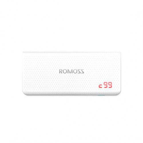 Дополнительный внешний аккумулятор ROMOSS Sense 4 LED (PH50-485-01) (10400mAh)