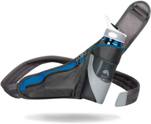 Спортивная сумка на пояс с кармашком для бутылки FitLife