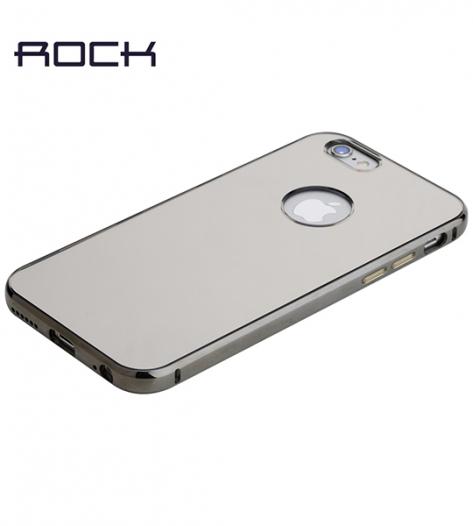 Алюминиевая накладка Rock Infinite Series (Mirror) для Apple iPhone 6/6s plus (5.5