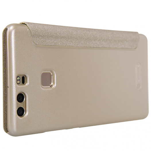 Кожаный чехол (книжка) Nillkin Sparkle Series для Huawei P9