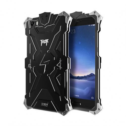 Противоударный чехол из авиационного алюминия на винтах Thor для Xiaomi MI5 / MI5 Pro