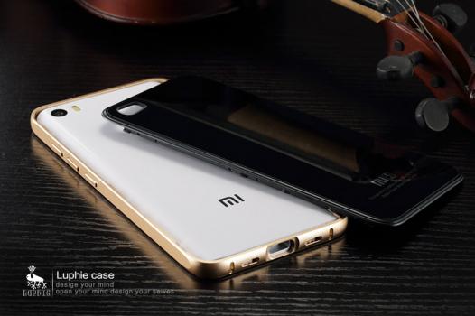 Металлический бампер Luphie с акриловой вставкой для Xiaomi MI5 / MI5 Pro