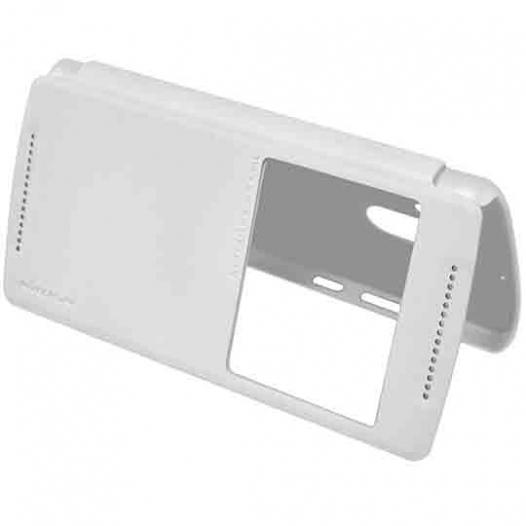 Кожаный чехол (книжка) Nillkin Sparkle Series для Lenovo Vibe X3 Lite (A7010) / K4 Note