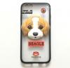 "TPU чехол с рельефными рисунком собачка для Apple iPhone 6/6s (4.7"")"