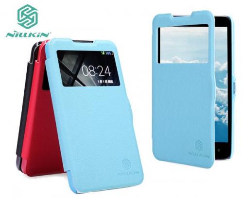 Кожаный чехол (книжка) Nillkin Fresh Series для HTC Desire 516