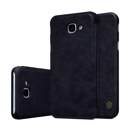 Кожаный чехол (книжка) Nillkin Qin Series для Samsung A810 Galaxy A8 (2016)
