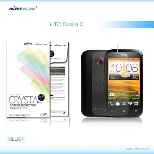 Защитная пленка Nillkin Crystal для HTC Desire C