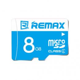 Карта памяти Remax microSDHC 8 GB Card Class 6 +SD адаптер
