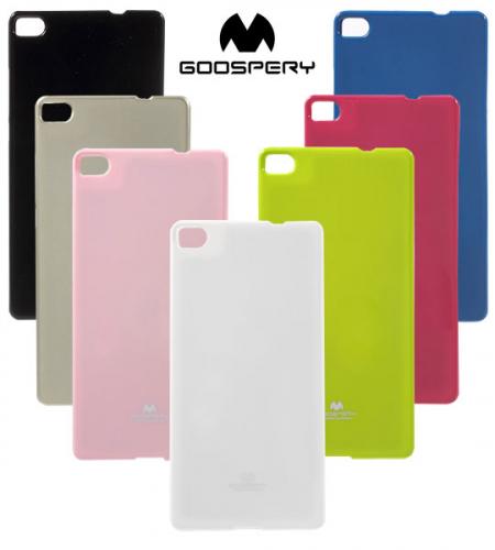 TPU чехол Mercury Jelly Color series для Huawei Ascend P8