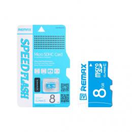Карта памяти Remax microSDHC 8 GB Card Class 6