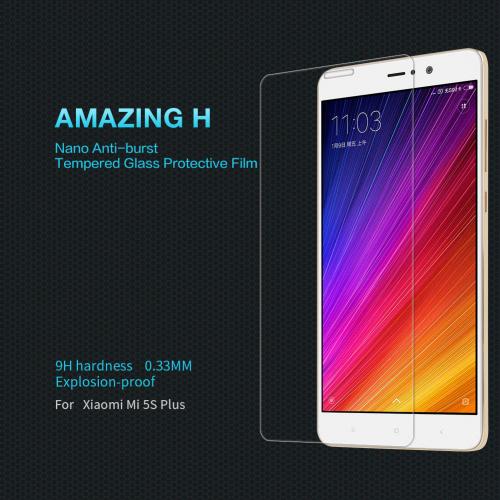 Защитное стекло Nillkin Anti-Explosion Glass Screen (H) для Xiaomi Mi 5s Plus