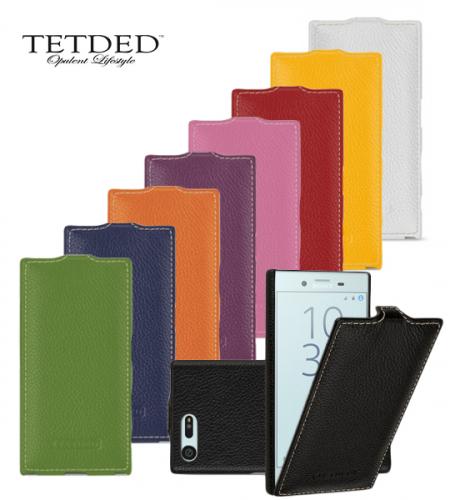 Кожаный чехол (флип) TETDED для Sony Xperia X Compact