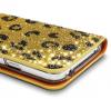 Кожаный чехол (книжка) Dreamplus Safari Series для Samsung G900 Galaxy S5