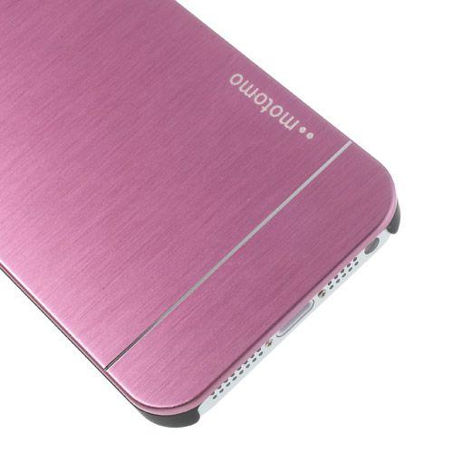 Накладка MOTOMO с алюминиевой вставкой для Apple iPhone 5/5S/SE