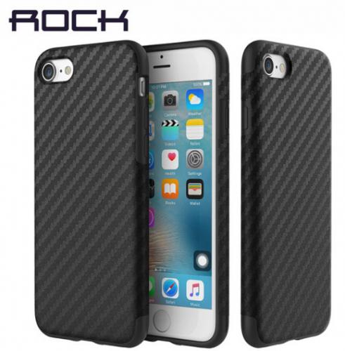 Пластиковая накладка Rock Origin Series (Texured) для Apple iPhone 7 (4.7