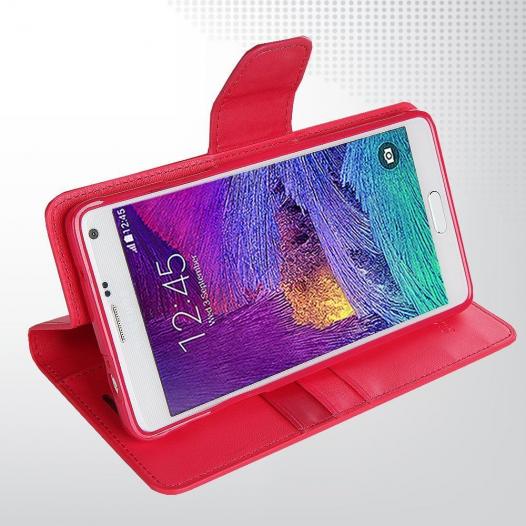 Чехол (книжка) Mercury Sonata Diary series для Samsung N910H Galaxy Note 4