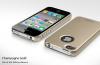 Ультратонкий пластиковый чехол SGP Ultra Thin Matte Series для iPhone 4