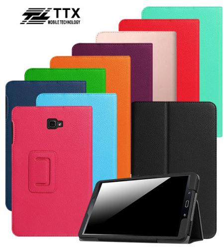 Кожаный чехол-книжка TTX c функцией подставки для Samsung Galaxy Tab A 10.1 (T580)