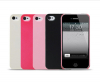 "Пластиковая накладка ""Double color"" (2 шт.) для Apple iPhone 4/4S"
