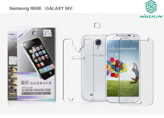 Защитная пленка Nillkin (на обе стороны) для Samsung i9500 Galaxy S4