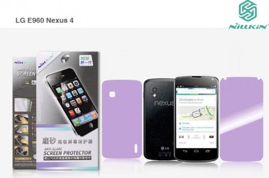 Защитная пленка Nillkin (на обе стороны) для LG E960 Nexus 4