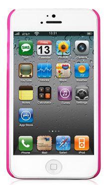Пластиковая накладка Nuoku Fresh Series для Apple iPhone 5/5S/SE (+ пленка)