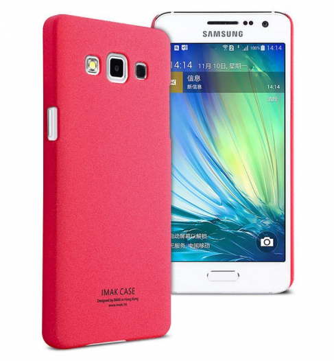 Пластиковая накладка IMAK Cowboy series для Samsung A500H / A500F Galaxy A5 (+ пленка)