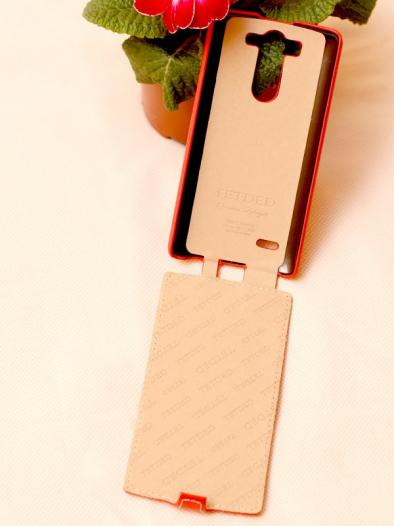 Кожаный чехол (флип) TETDED для LG D724/D722 G3S