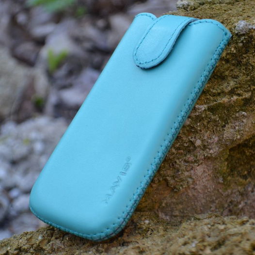 Кожаный футляр Mavis Premium для Nokia X / X+ / Apple iPhone 3G/S